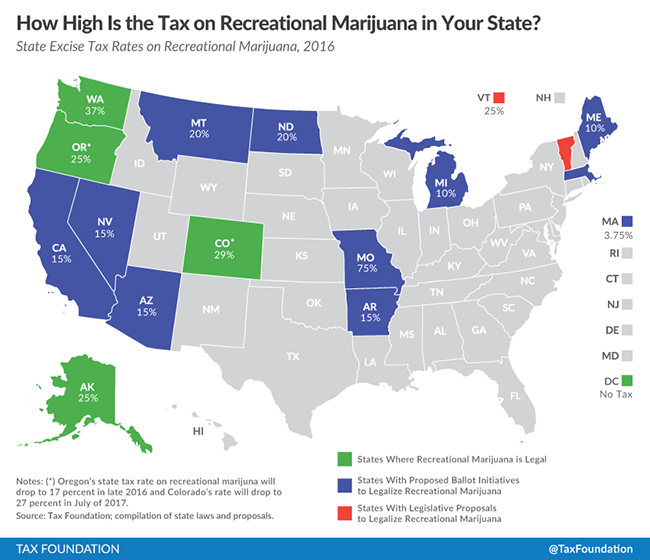 Cannabis Legalization The Dam Has Burst Portfolio Wealth Global - Us-marijuana-map-2017